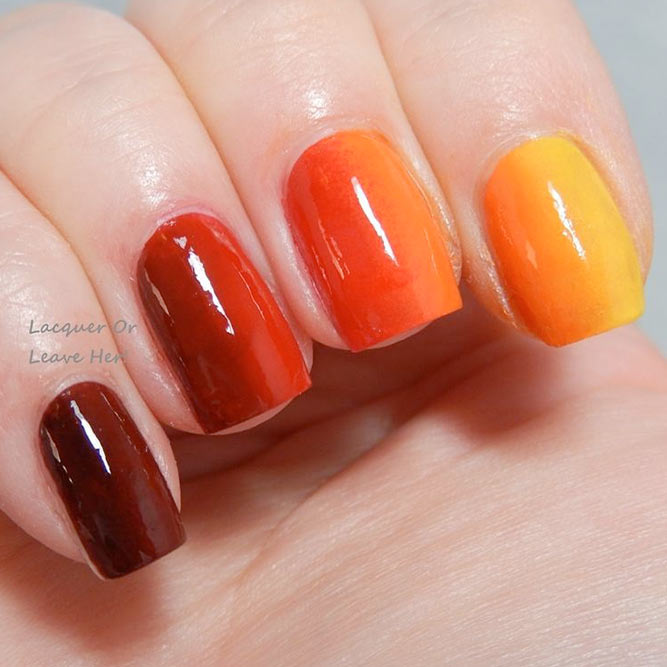 Vertical Ombre Nails picture 2