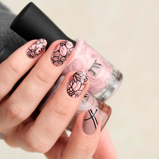 Oval Nail Art Ideas