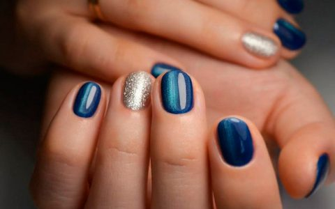 Charming Designs for Rounded Nails