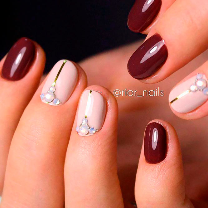 Luxurious Nail Designs with Rhinestones picture 3