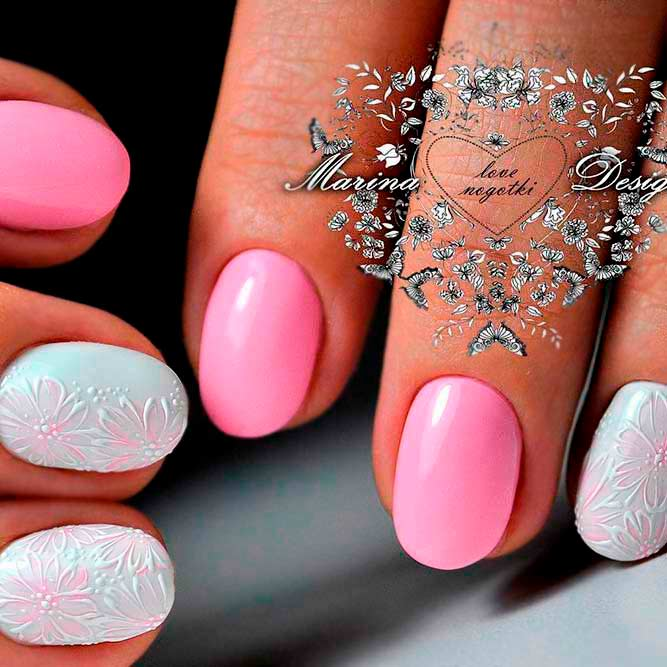 Lovely Rounded Nails Designs picture 1