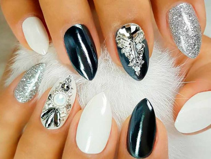 Gel nail designs archives nail designs 21 sassy nails designs to finish your trendy look prinsesfo Images