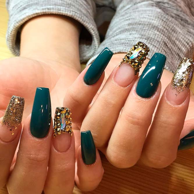 The art of sassy nails creation naildesignsjournal amazing greenish blue nails designs picture 2 prinsesfo Gallery