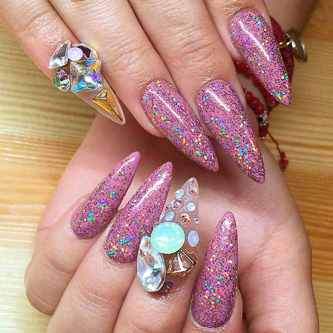 Fabulous Nail Art Designs for Long Nails picture 2