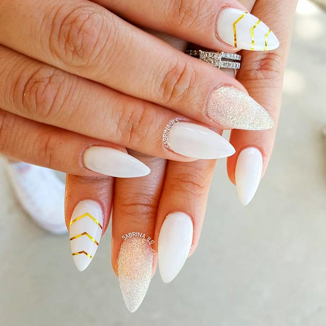 Luxury and Chic Stiletto Nails picture 2