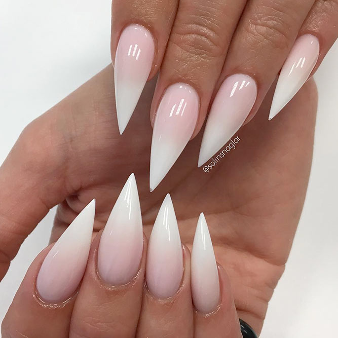Ombre Stiletto Nails picture 2