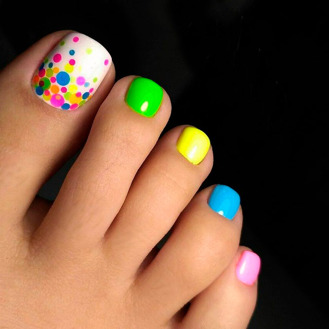 Juicy Summer Toe Nail Art Designs picture 3