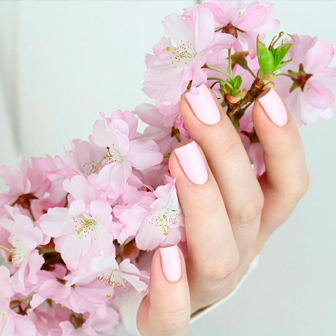 Blush Pink Nails Polishes picture 2