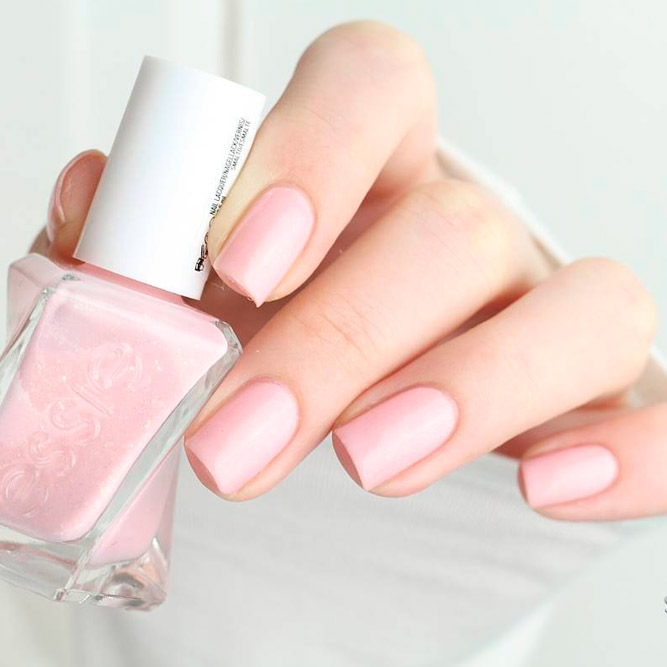 Blush Pink Nails Polishes picture 1