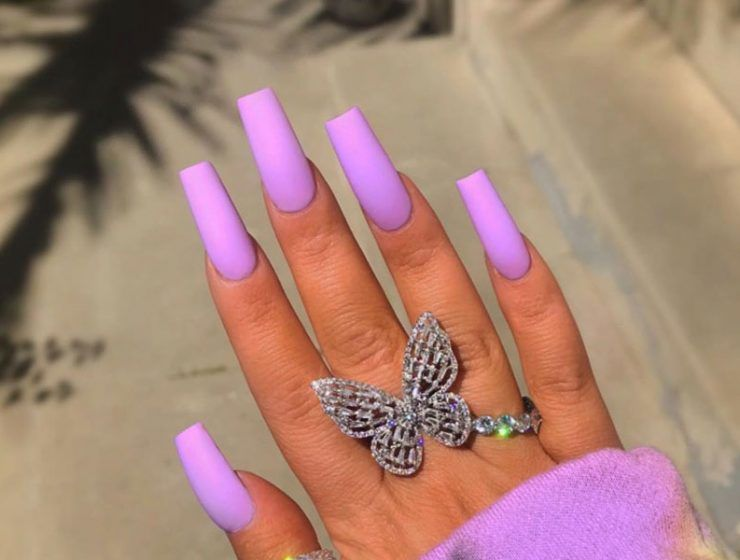 Fantastic Designs For Coffin Nails You Must Try
