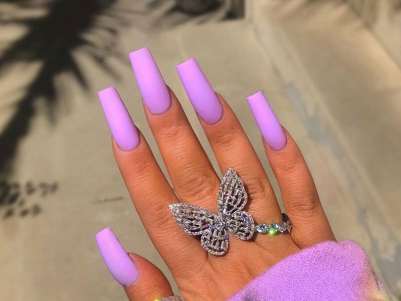 Coffin Nails Ideas For Enchanting Look