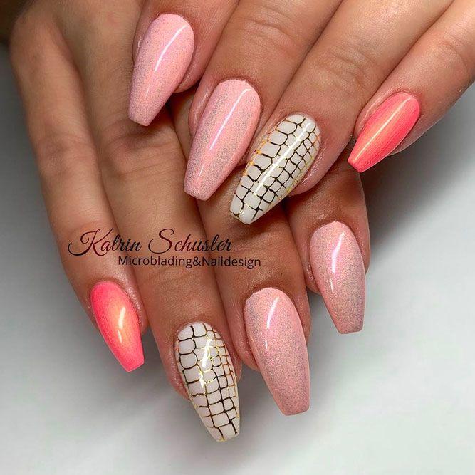 Pink Net Pattern