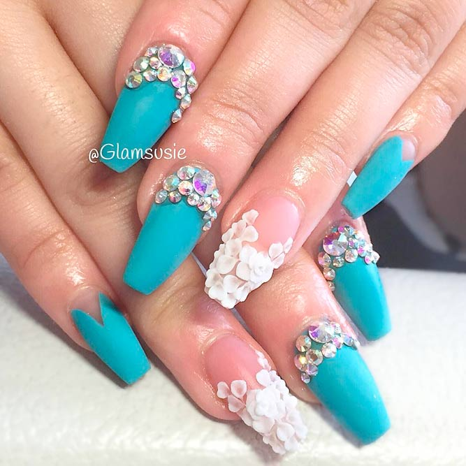 Coffin Nail Tip Art Ideas picture 3