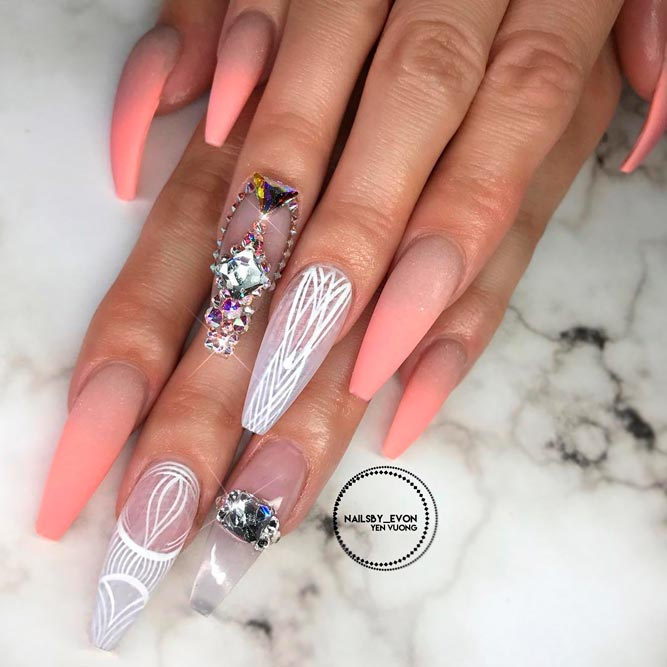Fresh Ideas Long Coffin Nails picture 3