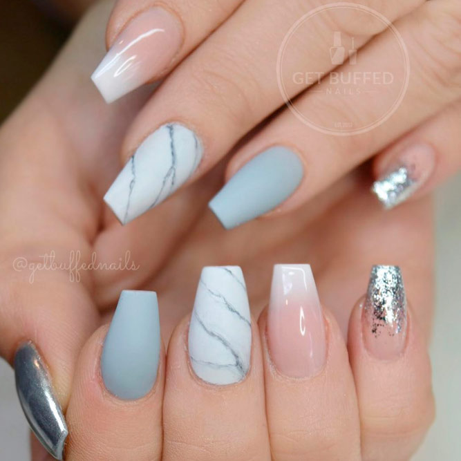 Coffin Nail Tip Art Ideas picture 1