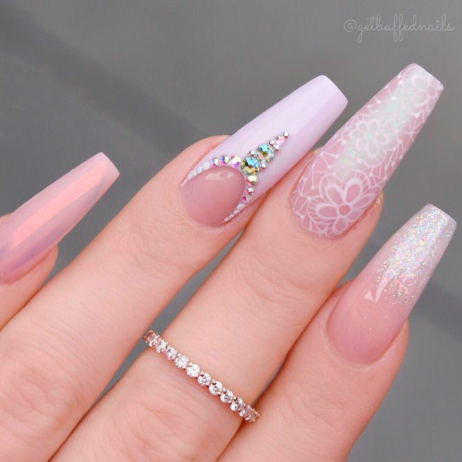 Coffin Nail Tip Art Ideas picture 2