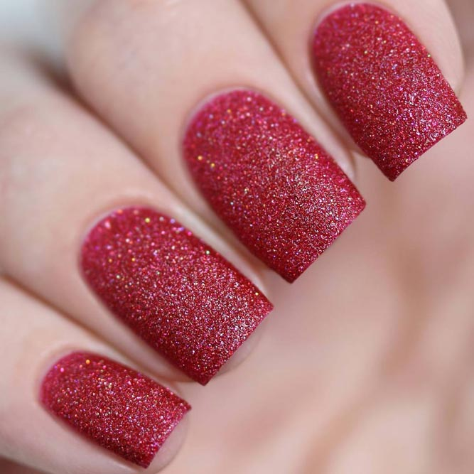Red Color Nails Classic is Always in Trend picture 1