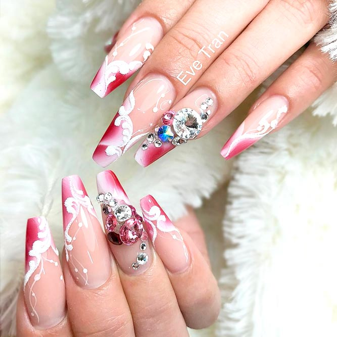 French Tip Nail Designs for Long Nails picture 2
