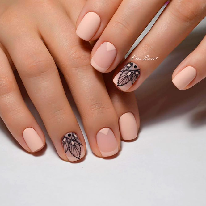 French Tip Nail Designs For Short Nails Picture 2