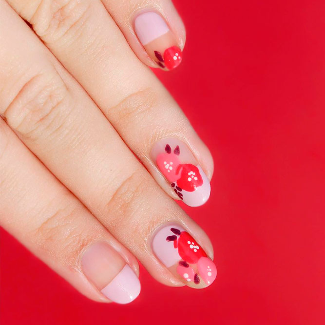 Cute French Tip Nail Designs picture 2