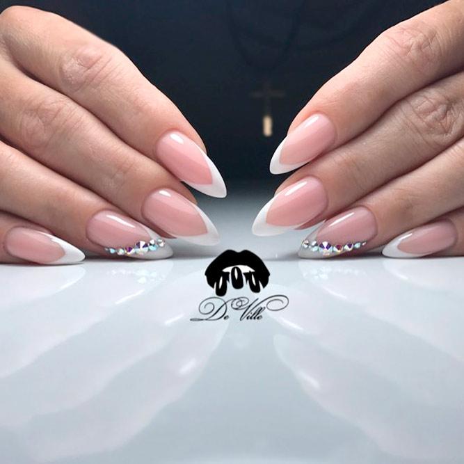 French Tip Nails Ideas To Make Your Busy Life Easier Naildesignsjournal