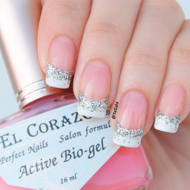 21 summery french tip nail designs naildesignsjournalcom
