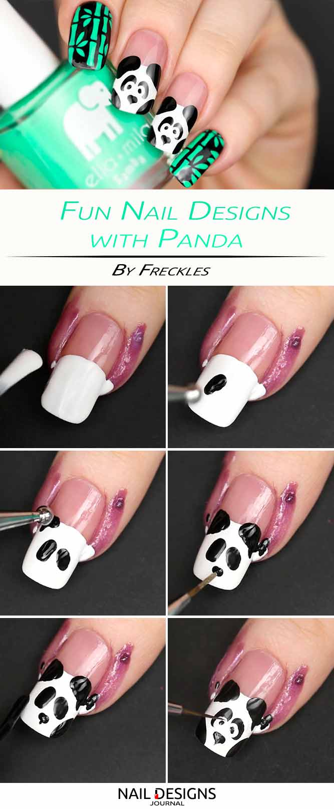 Fun Nail Designs with Panda