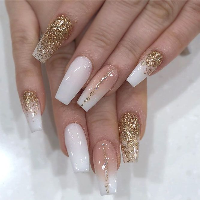 Gorgeous Gold Glitter Accents
