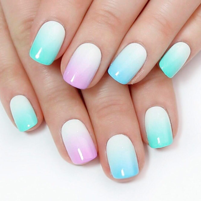 Trendy And Cute Gel Nails Naildesignsjournal Pastel Ombre Fade Prinsesfo Choice Image