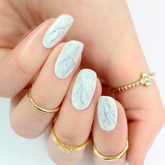 DIY Marble Mani with Stamping picture 2