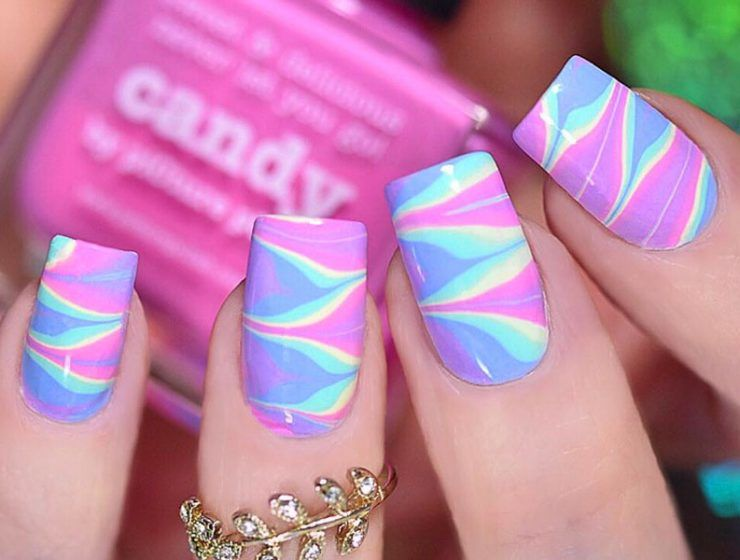 Marble Nails: Easy Way To Create Trendy Manicure