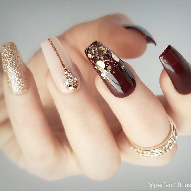 Trendy Coffin Nails Shapes picture 1