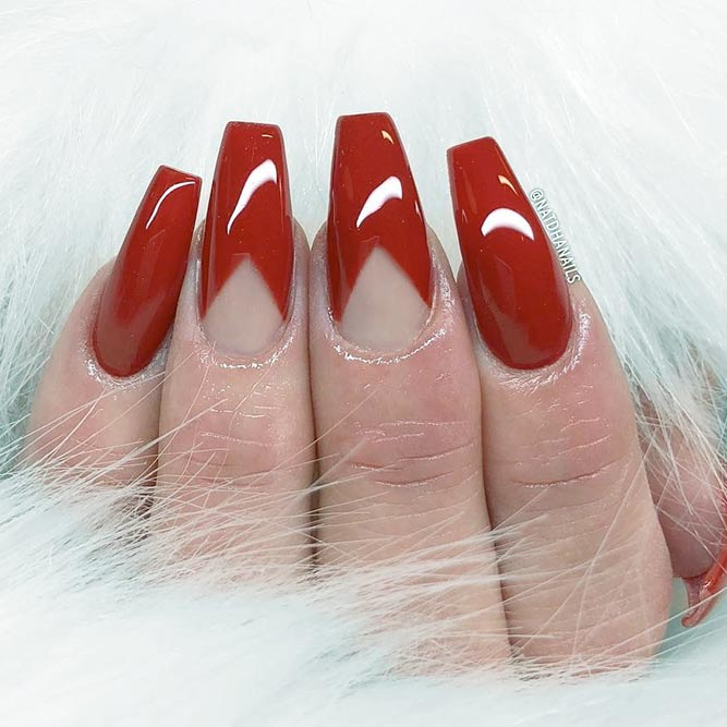 Trendy Coffin Nails Shapes picture 2