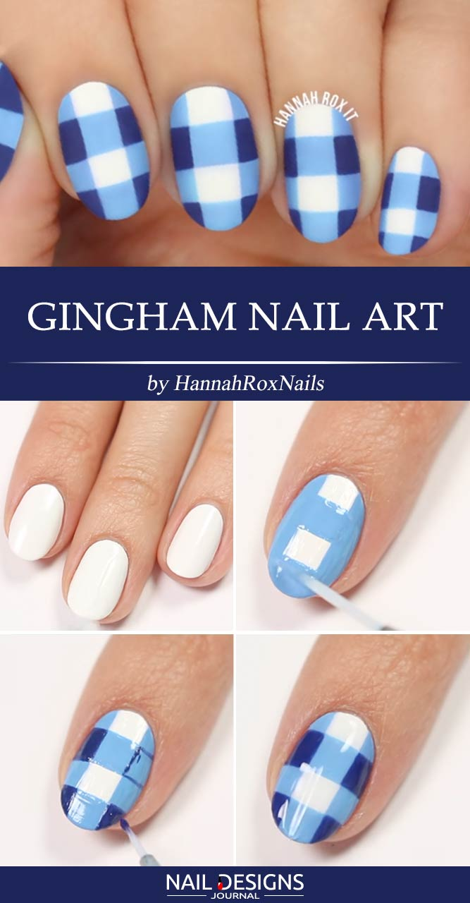 15 Beautiful And Simple Nail Designs