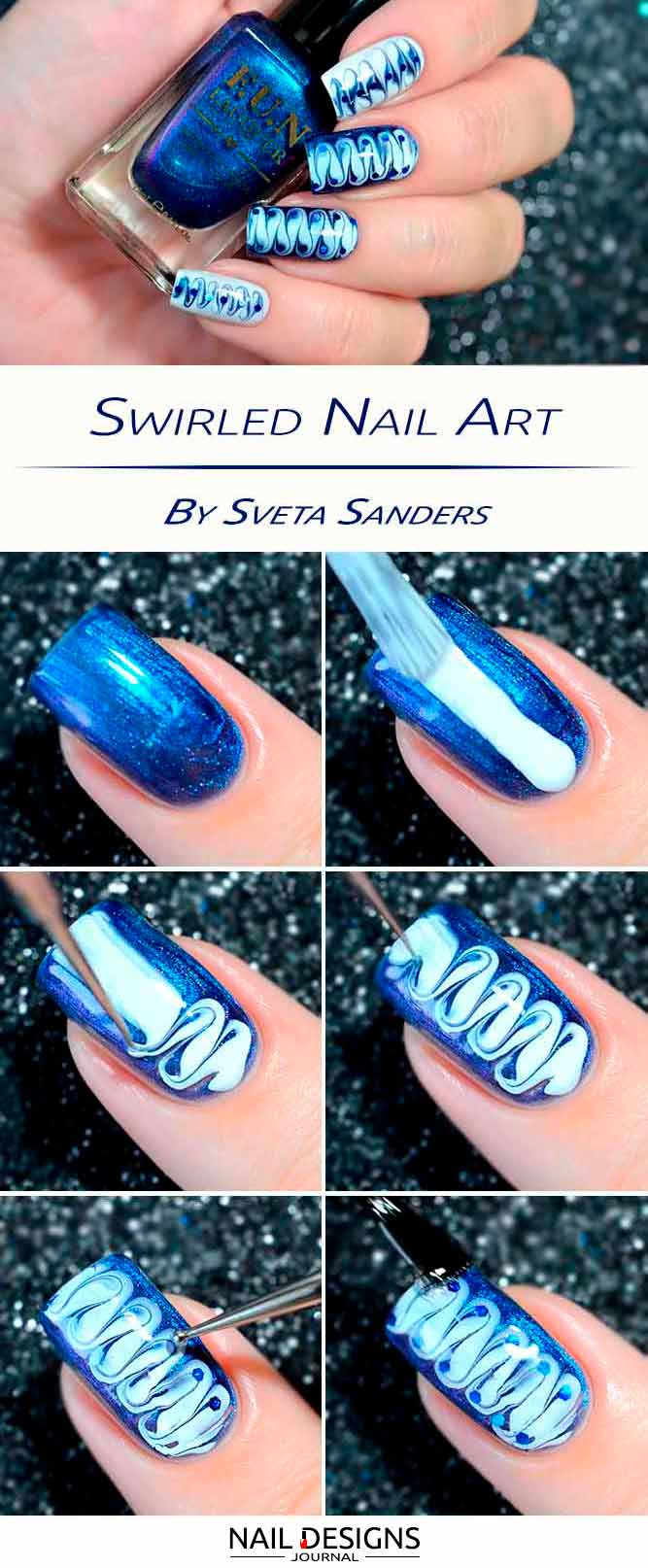 25 Beautiful And Simple Nail Designs | NailDesignsJournal.com