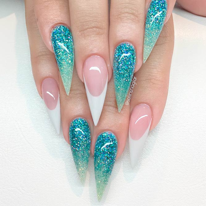 Genuine Beauty Of Stilettos Nails | NailDesignsJournal.com
