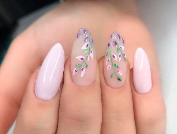 Fun And Flirty Floral Designs For Cute Nails This Summer