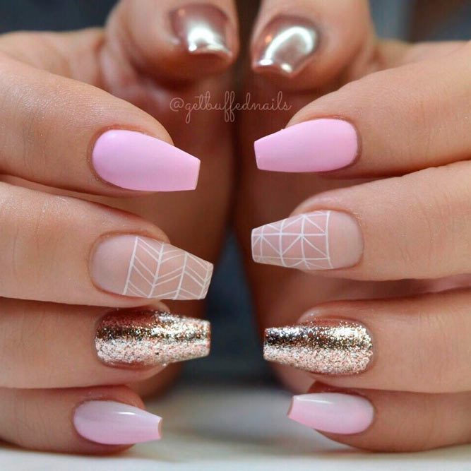Coffin Nail in Pink picture 1