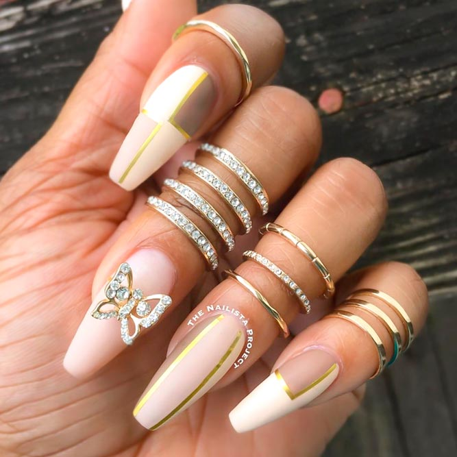 Coffin Nail in Nude picture 3