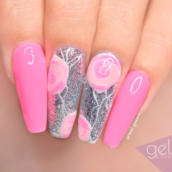 Coffin Nail in Pink picture 2
