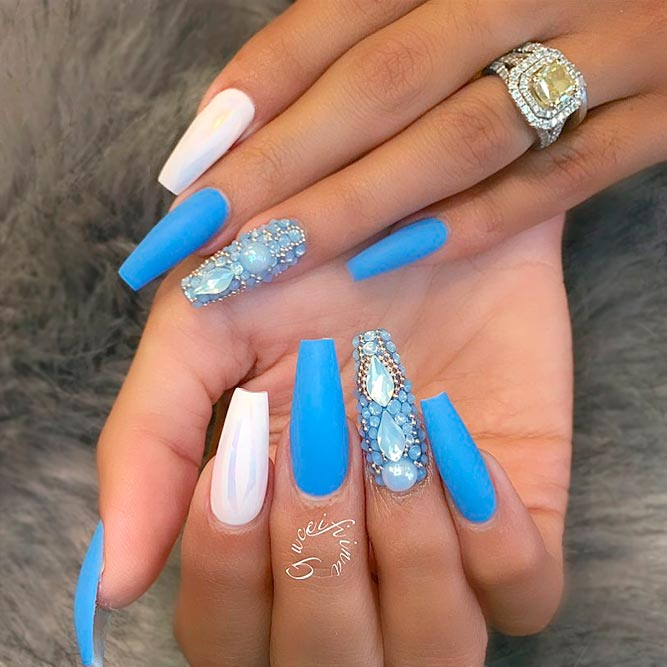 Killer Designs for Coffin Shape Nails picture 3
