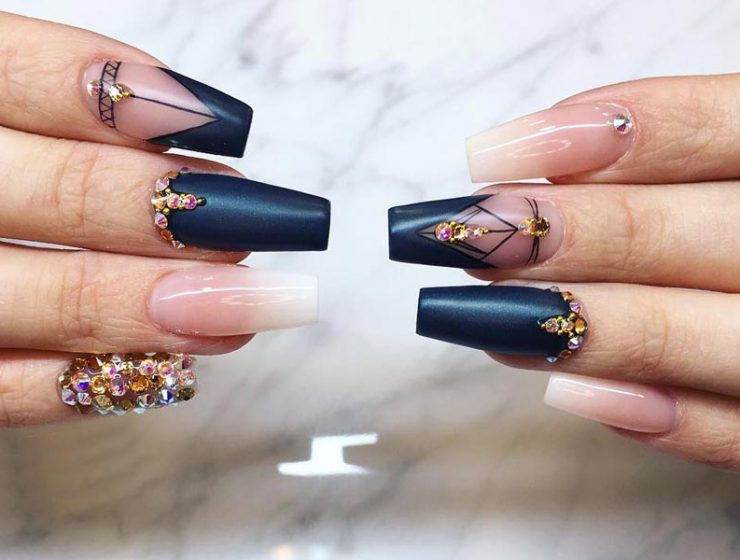 Designs for Coffin Style Nails that are Worth Trying
