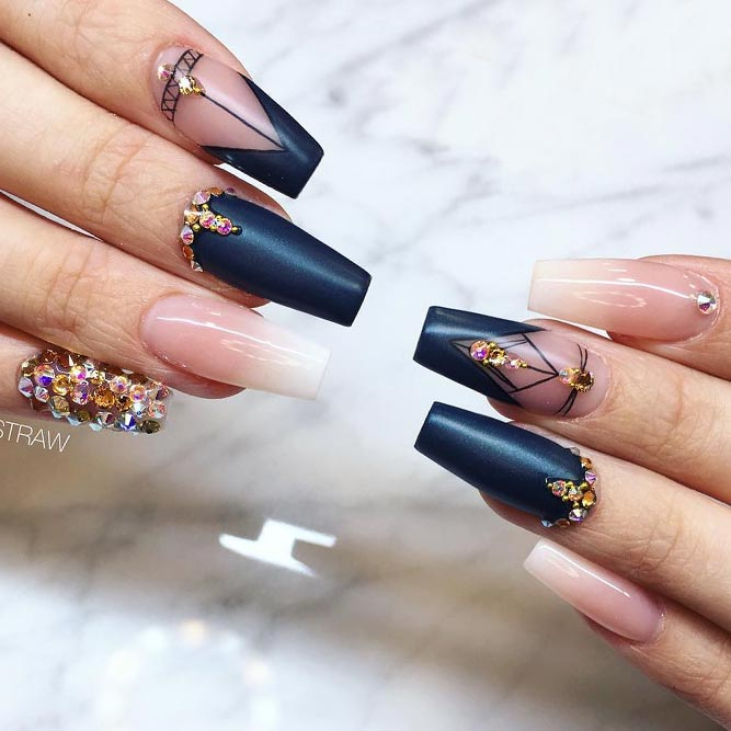 Cool Nails with Trendy Triangle Tips picture 3