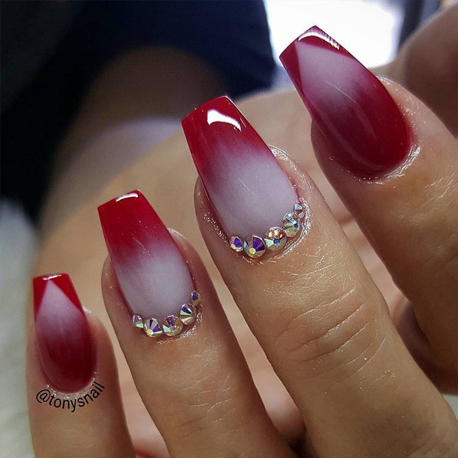 Cool Nails with Trendy Triangle Tips picture 1