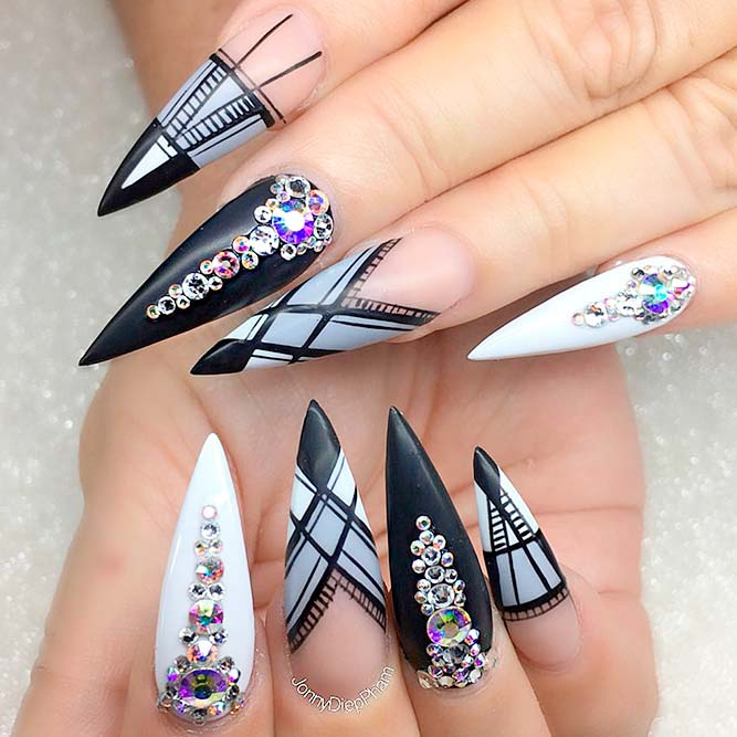 Cute Stiletto Nails You Should Try picture 1