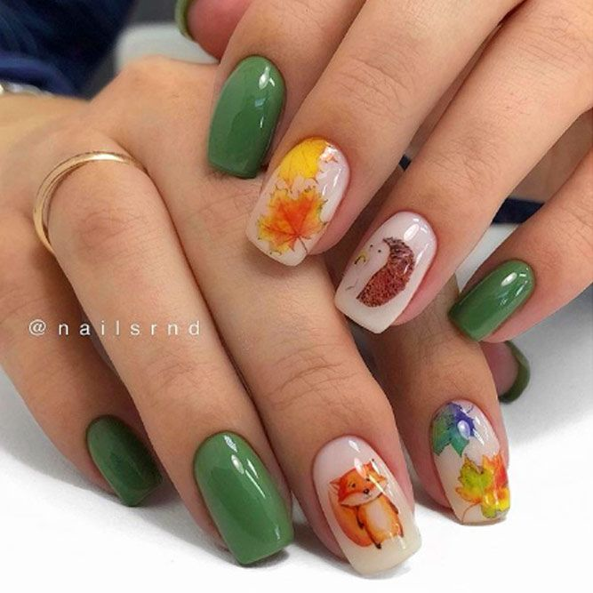 Beautiful Foxy Nails