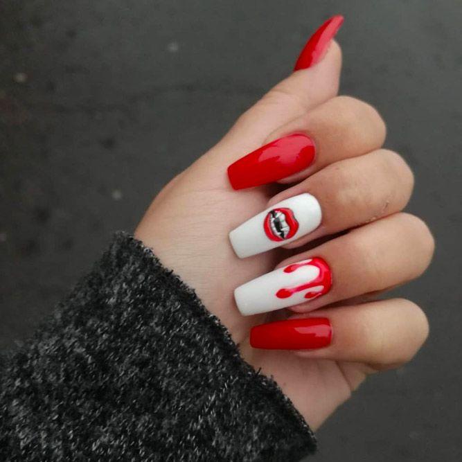 Vampire Lips Design