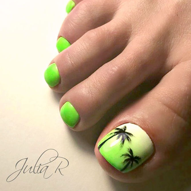 New Nail Designs for Cute Toes picture 3