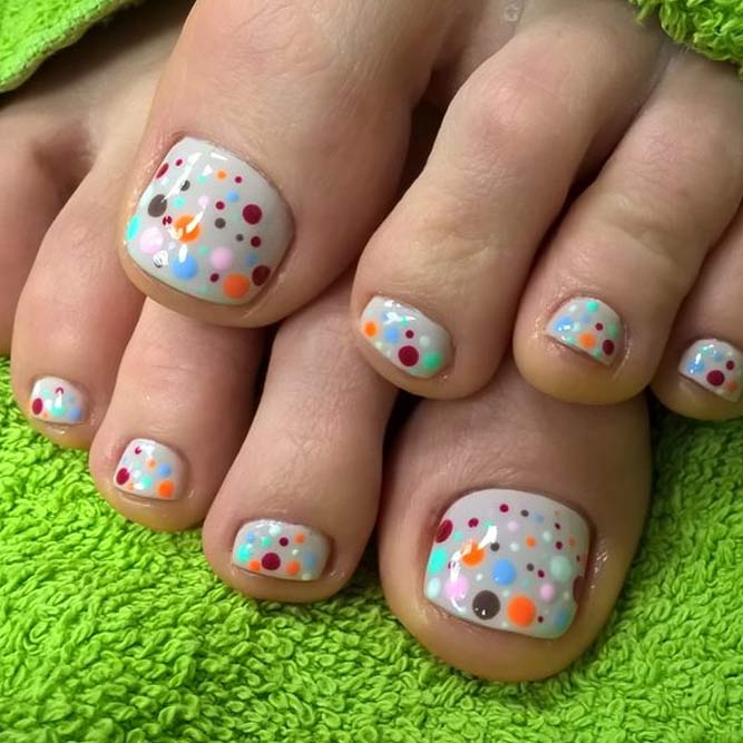 New Nail Designs for Cute Toes picture 1