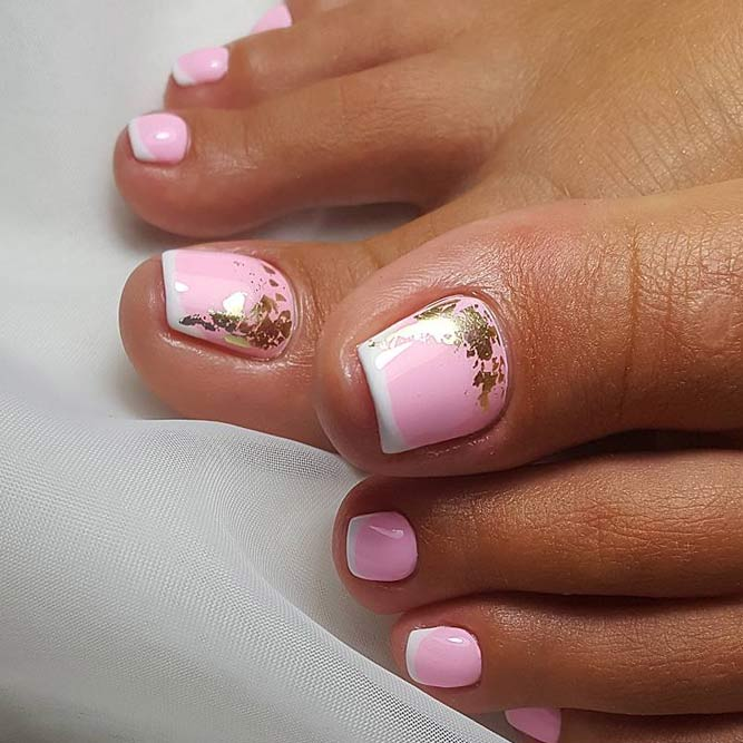 Cute Toe Nail Design Ideas for Beauties picture 1